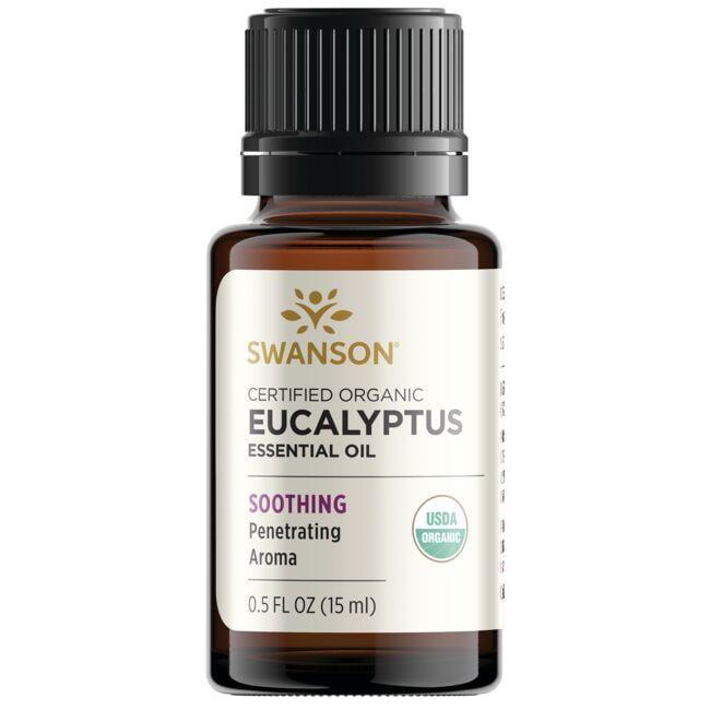 Swanson AromatherapyCertified Organic Eucalyptus Essential Oil