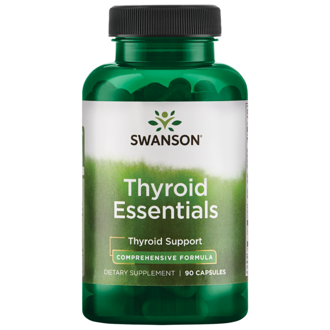Swanson Condition Specific Formulas Thyroid Essentials