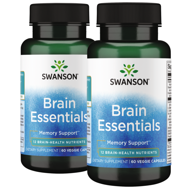 Swanson Condition Specific FormulasBrain Essentials