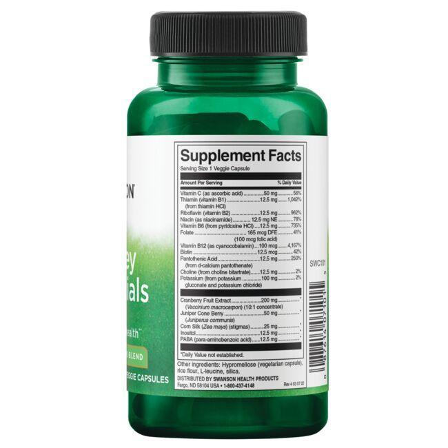 Swanson Condition Specific FormulasKidney Essentials Close Up
