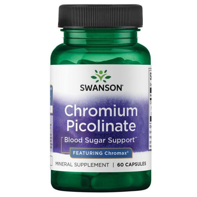 Swanson Best Weight-Control FormulasChromium Picolinate - Featuring Chromax
