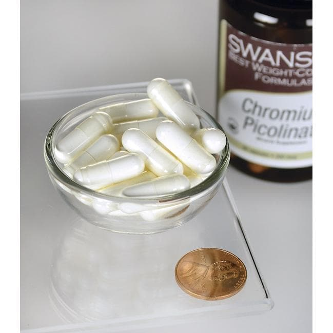 Swanson Best Weight-Control FormulasChromium Picolinate Close Up