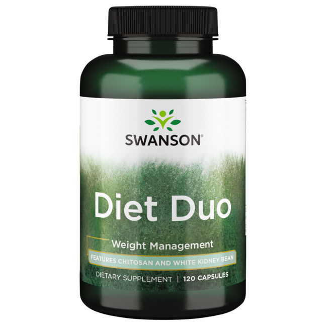 Swanson Best Weight-Control Formulas Diet Duo with White Kidney Bean