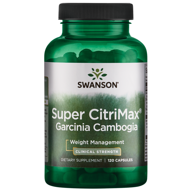 Swanson Best Weight-Control FormulasSuper CitriMax Clinical Strength Garcinia Cambogia