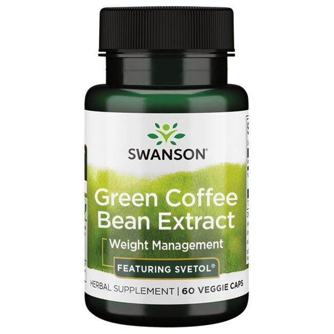 Swanson Best Weight-Control Formulas Green Coffee Bean Extract - Featuring Svetol