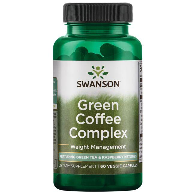 Swanson Best Weight-Control Formulas Green Coffee Complex