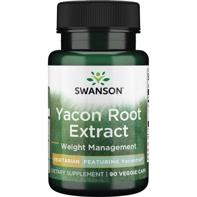 Swanson Best Weight-Control Formulas Yacon Root Extract - Featuring Yacontrol