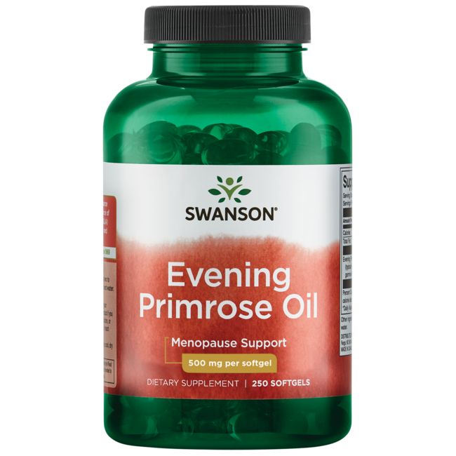 Swanson EFAs Evening Primrose Oil (OmegaTru)
