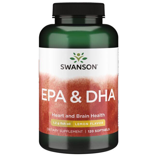 Swanson EFAsEPA & DHA - LEMON FLAVOR
