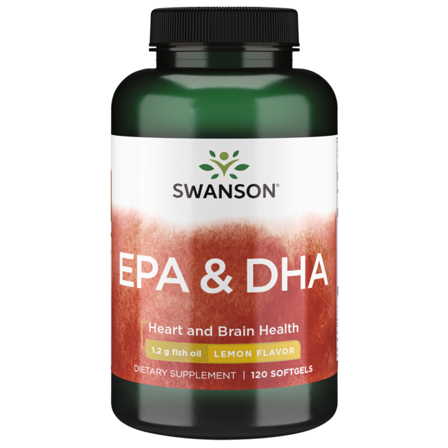 Odorless fish oil supplement great taste swanson for Epa dha fish oil