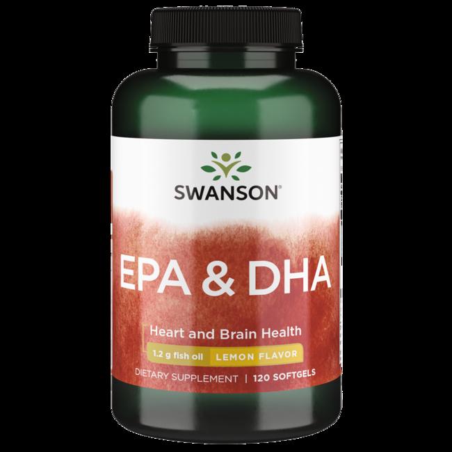 Swanson EFAs EcOmega EPA/DHA Fish Oil