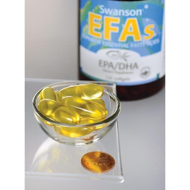 Swanson EFAsEPA & DHA - LEMON FLAVOR Close Up
