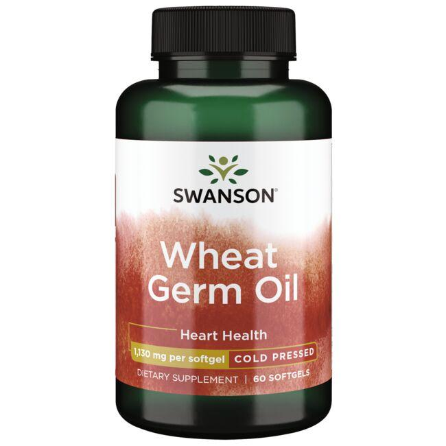 Swanson EFAs Cold-Pressed Wheat Germ Oil