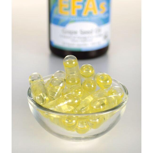 Swanson EFAsCold-Pressed Wheat Germ Oil Close Up