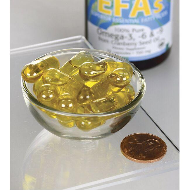 Swanson EFAs100% Pure Omega-3,-6 & -9 Close Up