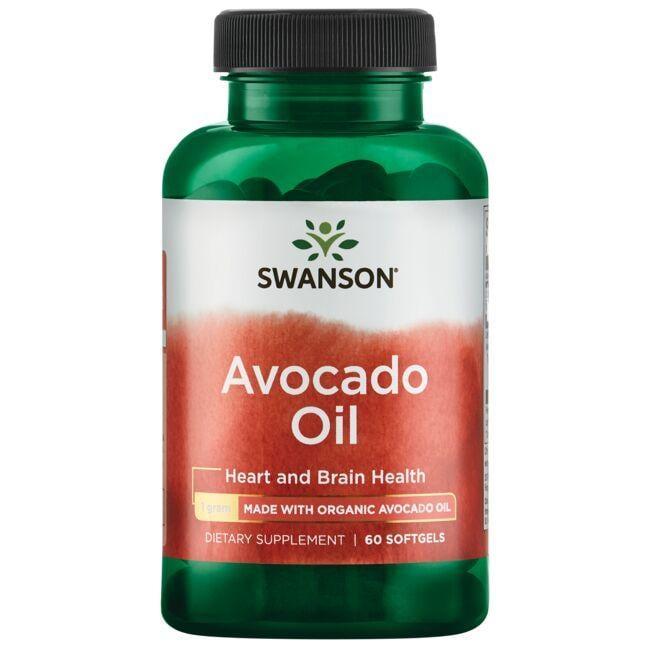 Swanson EFAsAvocado Oil made with Organic Avocado Oil