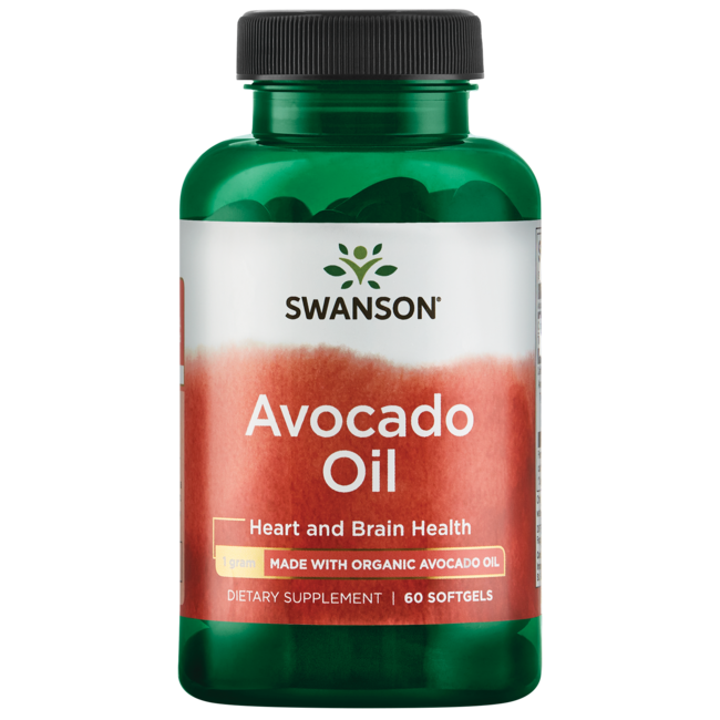 Swanson EFAs Avocado Oil