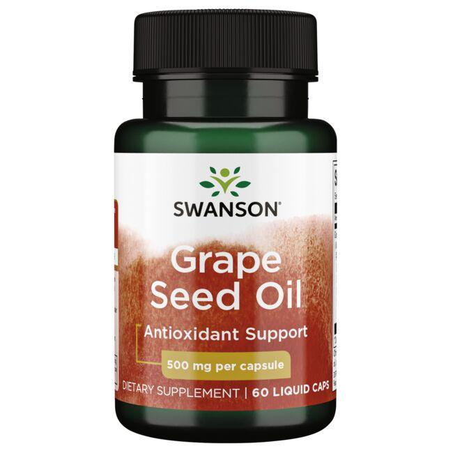 Swanson EFAs Grape Seed Oil
