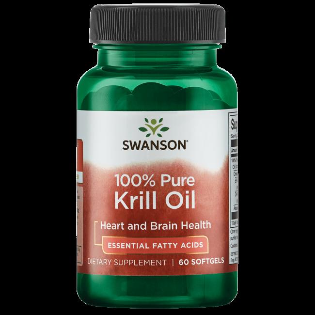 Swanson EFAs 100% Pure Krill Oil