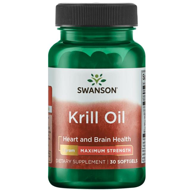 Swanson EFAsMaximum Strength Krill Oil