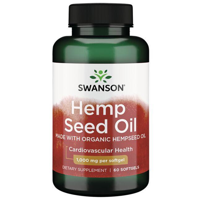 Swanson EFAsHemp Seed Oil Made with Organic Hempseed Oil