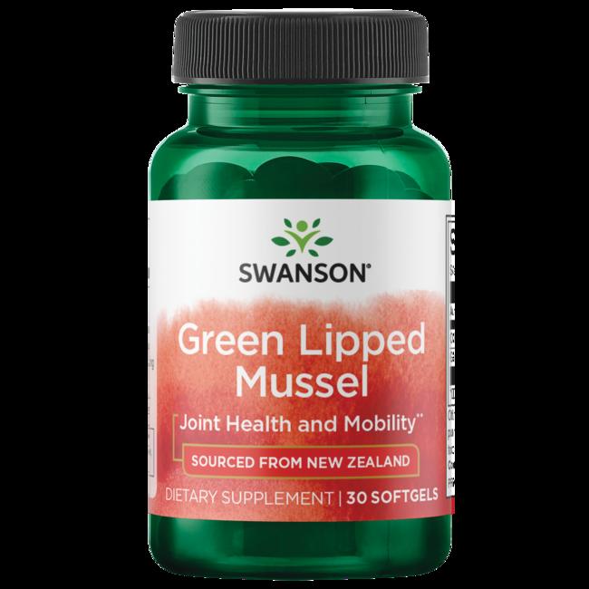 Swanson EFAs New Zealand Green Lipped Mussel Oil 30 Sgels