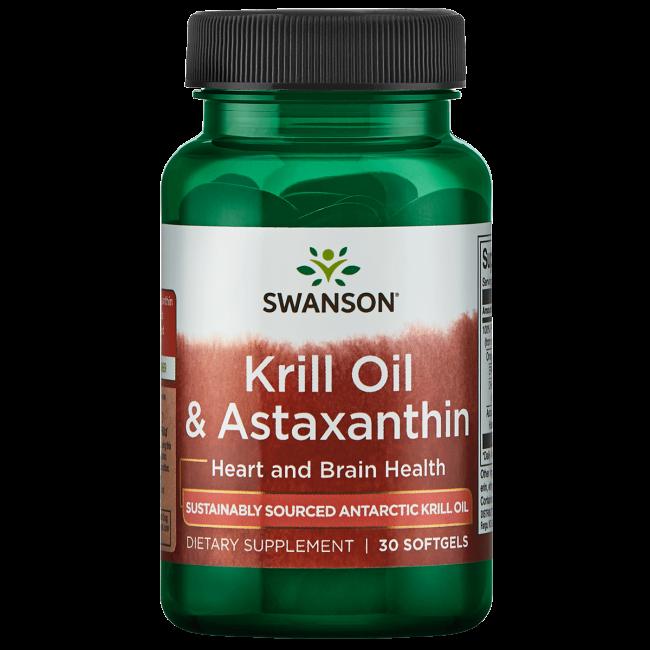 Swanson EFAsKrill Oil & Astaxanthin