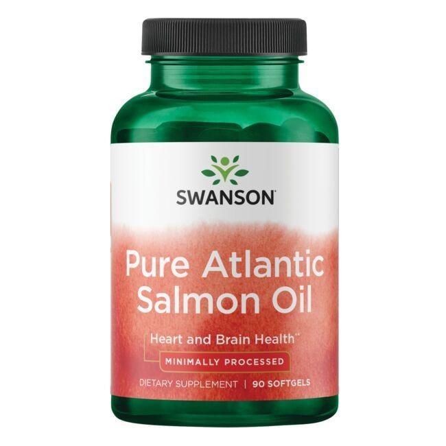 Swanson EFAsVirgin Salmon Oil