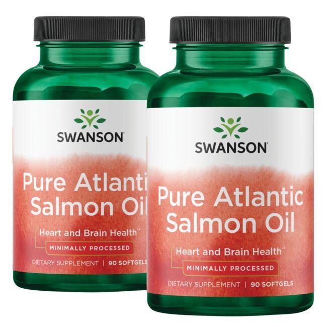 Swanson EFAsVirgin Salmon Oil - 2 Pack