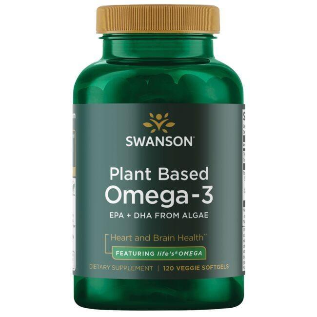 Swanson EFAsPlant Based Omega-3 - Featuring life's OMEGA