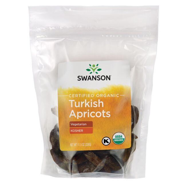 Swanson OrganicCertified Organic Turkish Apricots