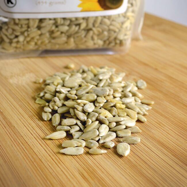 Swanson OrganicCertified Organic Sunflower Seeds Raw, Hulled Close Up
