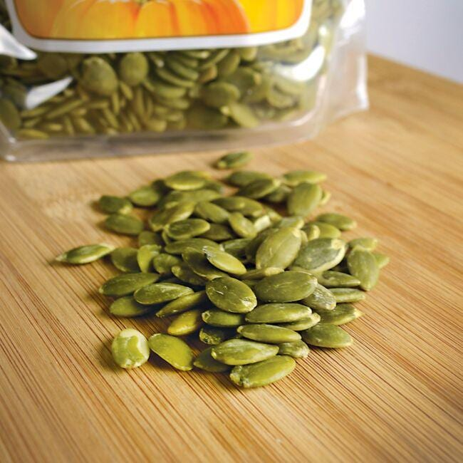Swanson Organic Certified Organic Pumpkin Seeds - Raw Shelled Close Up