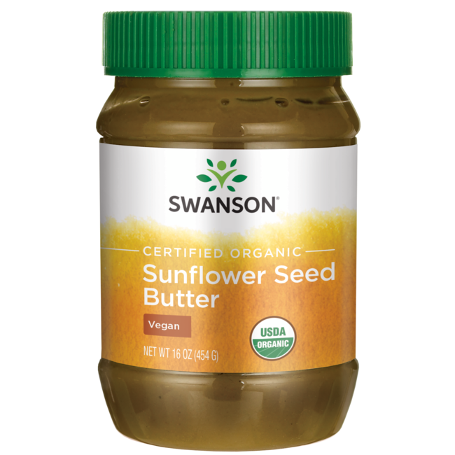 Swanson Organic100% Organic Sunflower Seed Butter