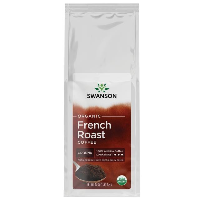 Swanson Organic Organic French Roast Ground Coffee - Dark Roast