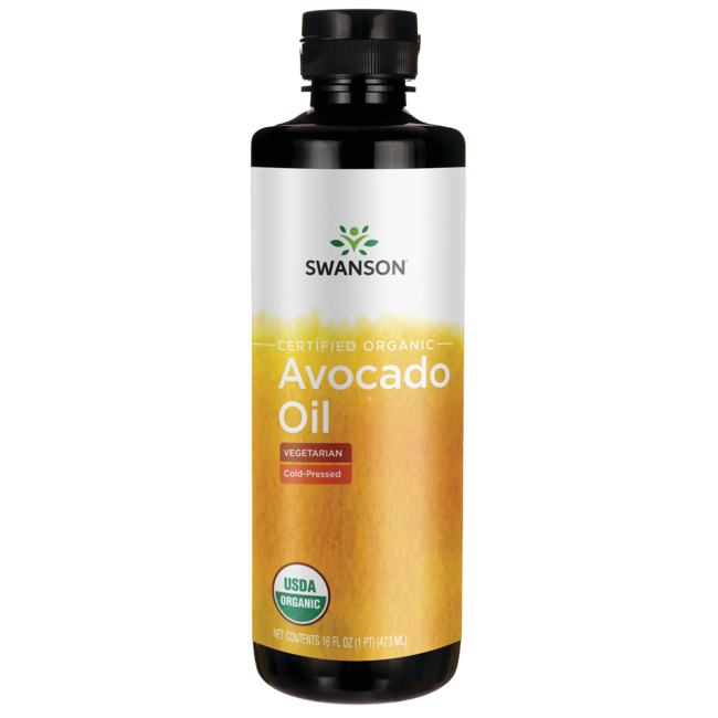 Swanson Organic Certified Organic Avocado Oil