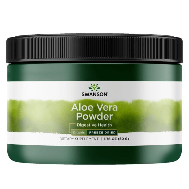 Swanson OrganicOrganic Freeze Dried Aloe Vera Powder