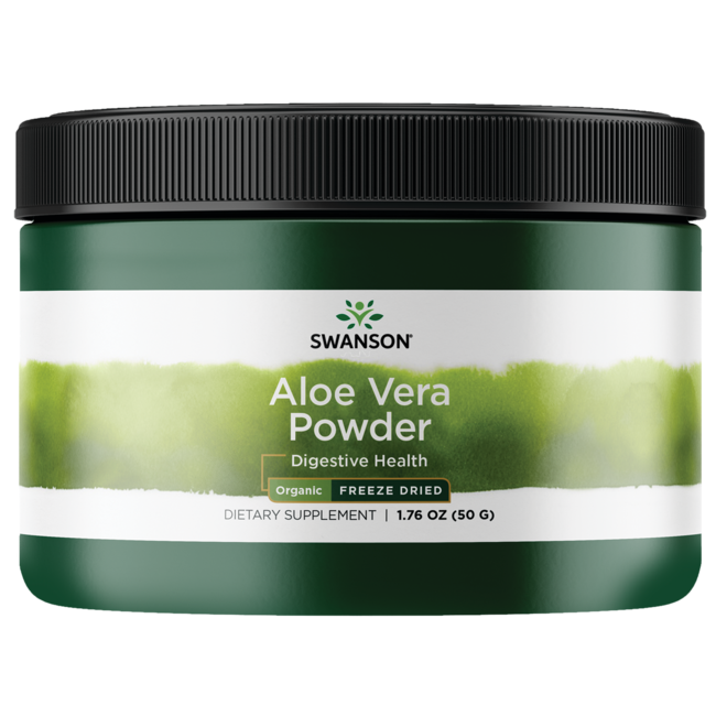 Organic Freeze Dried Aloe Vera Powder