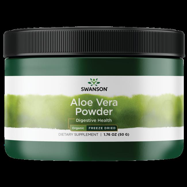 Swanson Organic Organic Freeze Dried Aloe Vera Powder