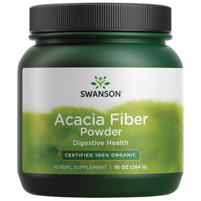 Swanson OrganicAcacia Fiber Powder - Certified 100% Organic