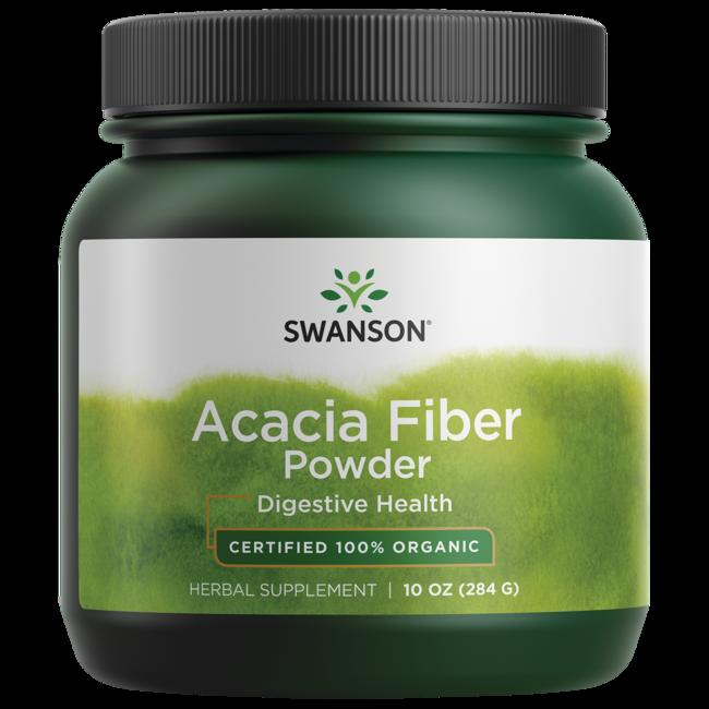 Swanson Organic 100% Certified Organic Acacia Fiber Powder