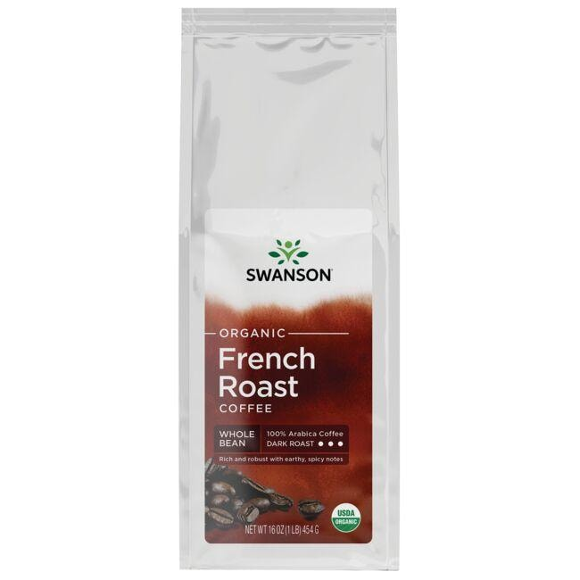 Swanson OrganicFrench Roast Whole Bean Organic Coffee - Dark