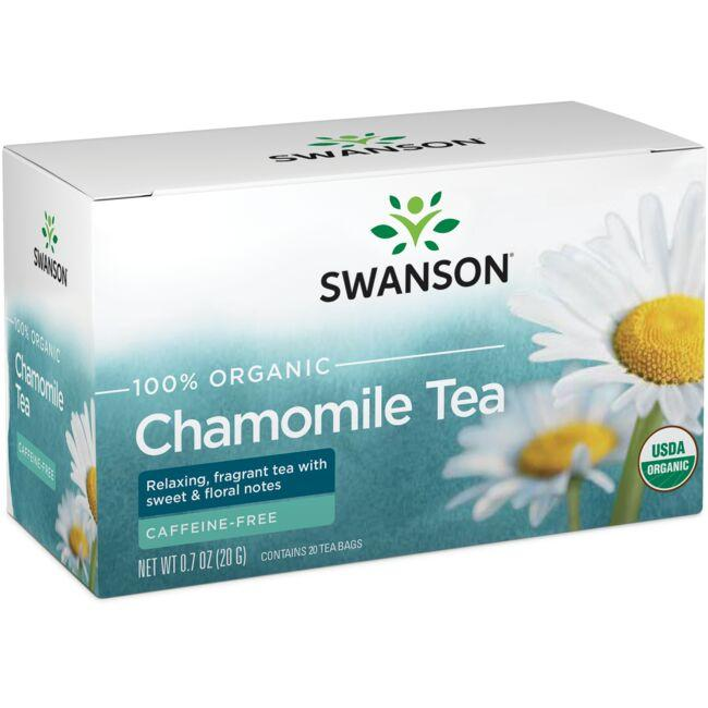 Swanson Organic100% Organic Chamomile Tea