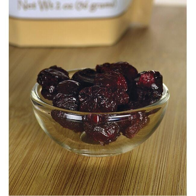 Swanson Organic Freeze-Dried Tart Cherries - Unsweetened Close Up