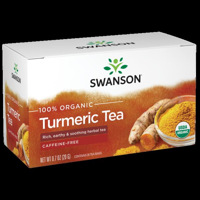 Swanson Organic Turmeric Tea