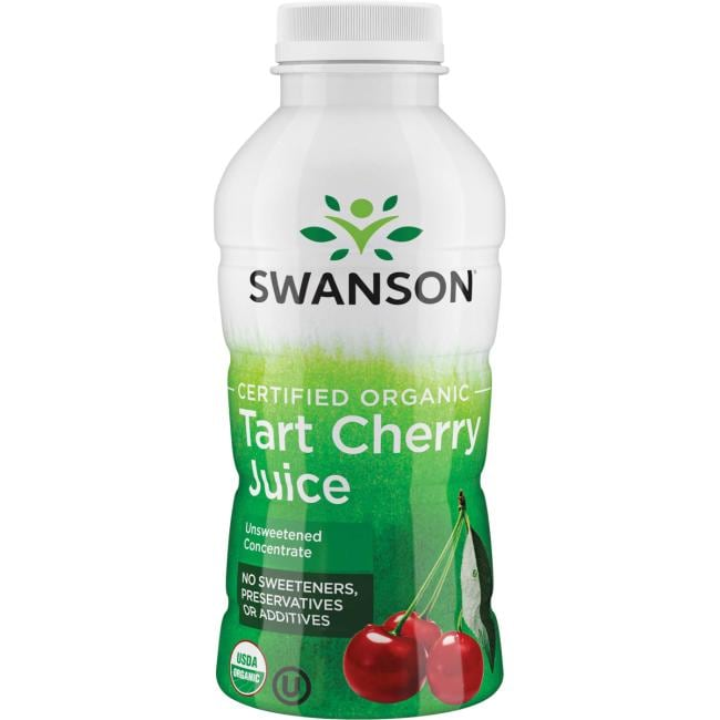 Swanson Organic Certified Organic Tart Cherry Juice - Unsweetened Concentrate