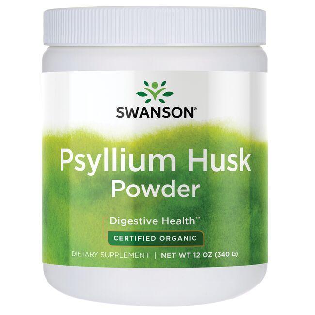 Swanson OrganicPsyllium Husk Powder - Certified Organic