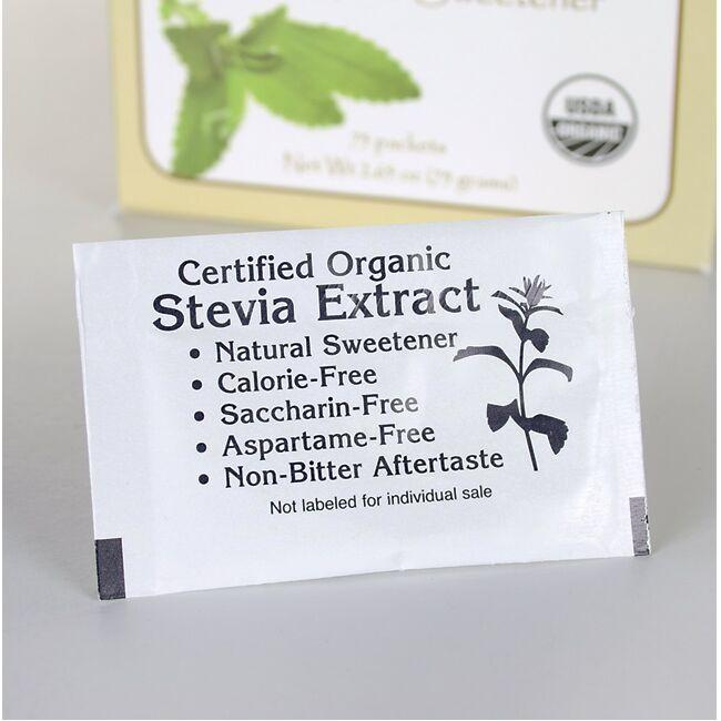 Swanson Organic Stevia Extract - Certified Organic Calorie-Free Sweetener Close Up