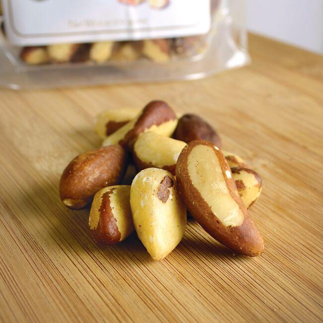 Swanson OrganicBrazil Nuts - Unsalted, Raw, Whole Close Up