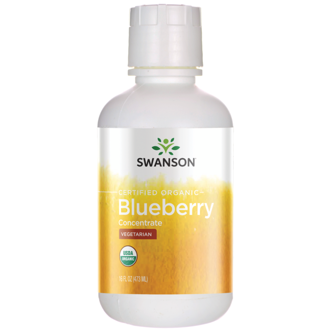 Swanson Organic Blueberry Super Concentrate
